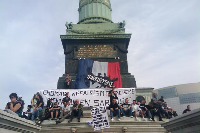 Chômage, affairisme, racisme. Bienvenue en Sarkosie [Unemployment, profiteering, racism. Welcome to Sarkoland]