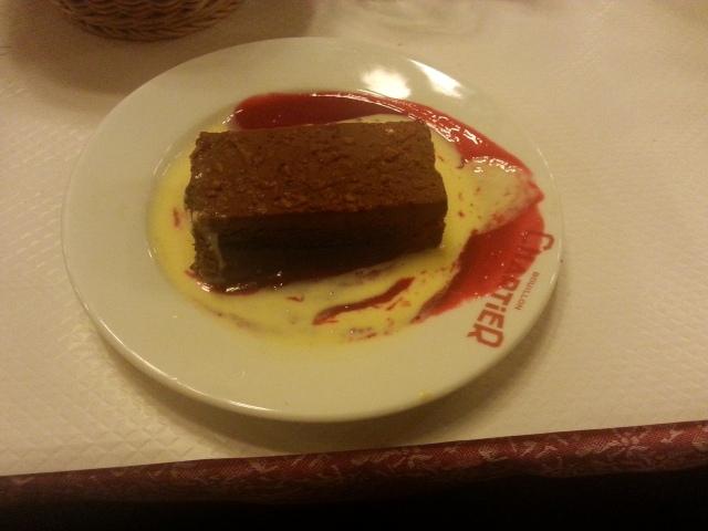 Feuillantine au chocolat [Chocolate feuillantine]