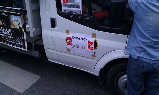 Sarkozy! Ca suffit! (CGT Energie 93)