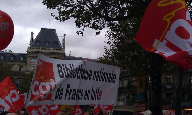 Bibliothèque nationale de France en lutte (CGT)