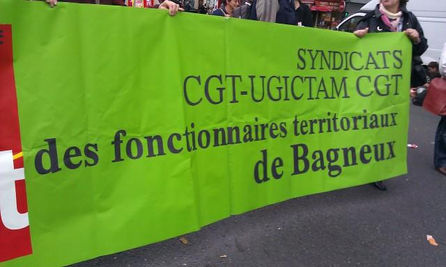 Syndicats CGT-UGICTAM CGT des fonctionnaires territoriaux de Bagneux