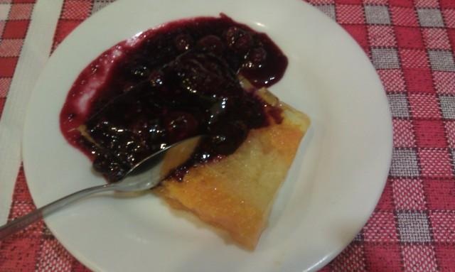 Terrine aux agrumes et aux fruits rouges