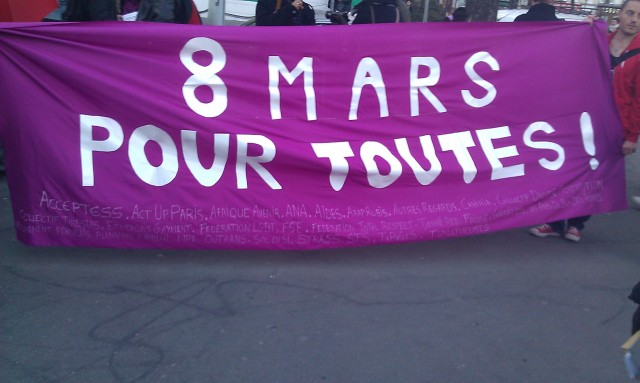 8 mars pour toutes [March 8th for everybody]