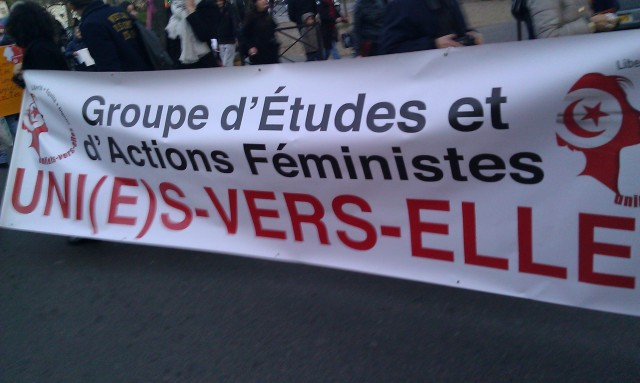 Groupe d'études et d'actions féministes [Group of feminist studies and actions]