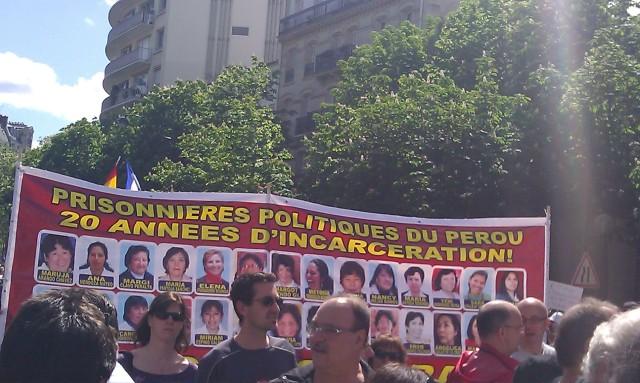 Prisonniers politiques du Pérou, 20 années d'incarcération [Political prisoners in Peru, 20 years incarceration]