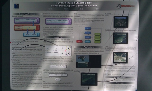 SIGGRAPH 2012 poster :  [SIGGRAPH 2012 poster: Pervasive touristic location based service mobile app with a social perspective]