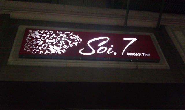 Soi 7 modern thai