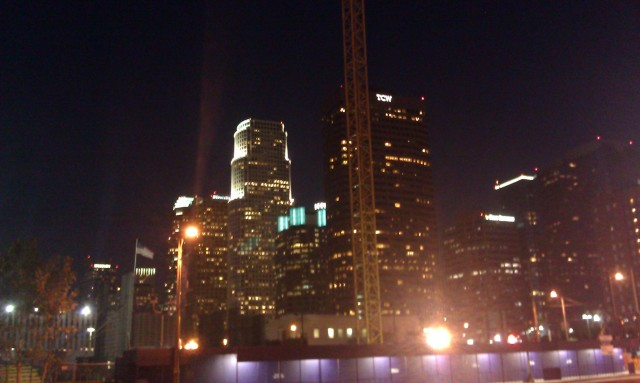 Los Angeles de nuit [Los Angeles by night]