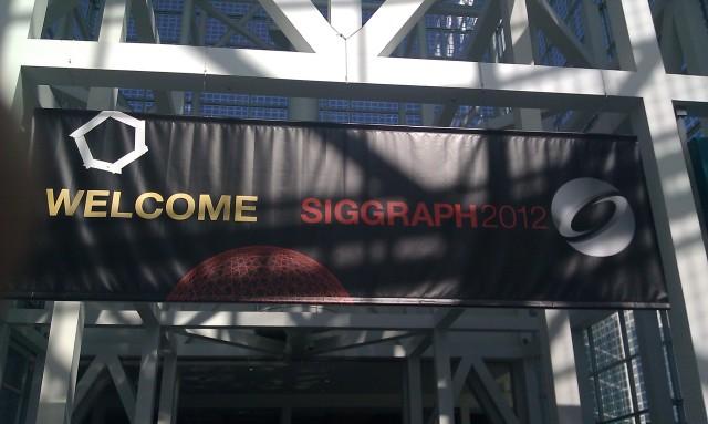 Bienvenue SIGGRAPH 2012 [Welcome SIGGRAPH 2012]
