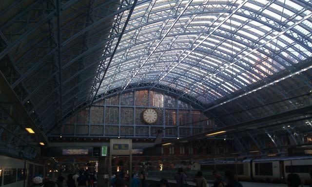 Gare de Saint-Pancras [Saint Pancras railway station]