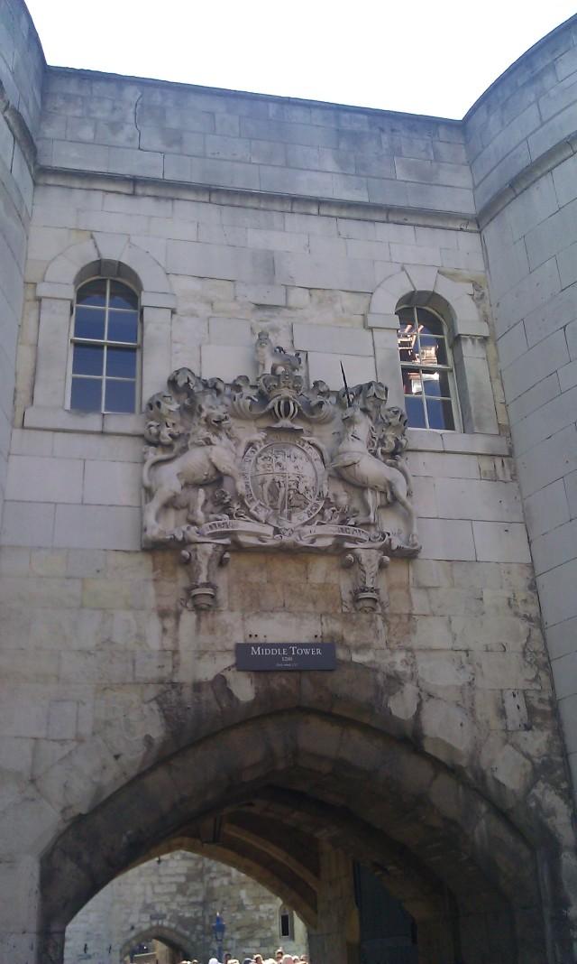 Tour du milieu, Tour de Londres [Middle Tower, Tower of London]