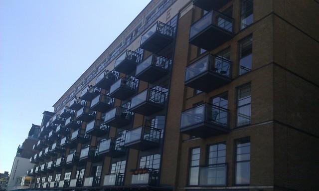 Les environs de Butler's Wharf [Butler's Wharf's surroundings]