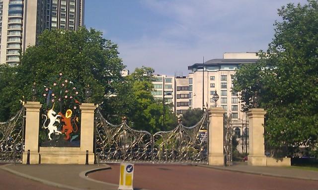 Armoiries d'Hyde Park [Hyde Park coat of arms]