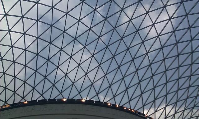 coupole du British Museum [British Museum's cupola]