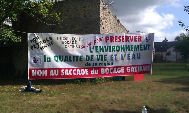 Non au saccage du bocage gâtinais [No to the sacking of bocage]