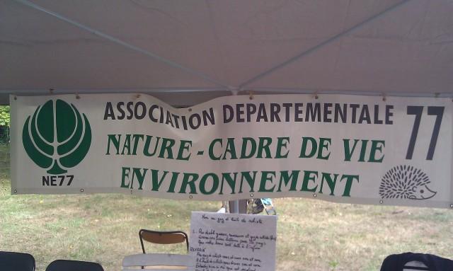 Association départementale 77 nature, cadre de vie, environnement [77 Departmental Association nature, living environment, environment]