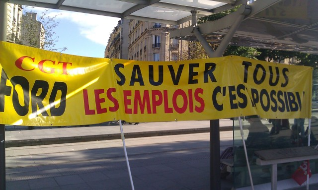 Sauver tous les emplois, c'est possible, CGT Ford [Saving the jobs is possible, CGT Ford]