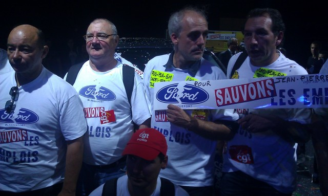 Ford, sauvons les emplois [Ford, let us save the jobs]