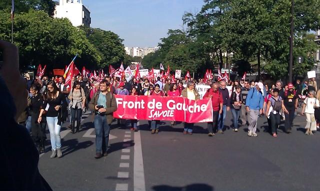 Front de Gauche Savoie [Left-wing Front Savoie]