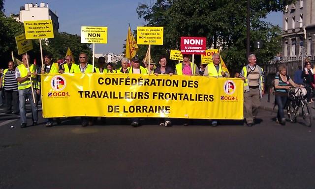Confédération des travailleurs frontaliers de Lorraine [Confederation of cross-border workers of Lorraine]