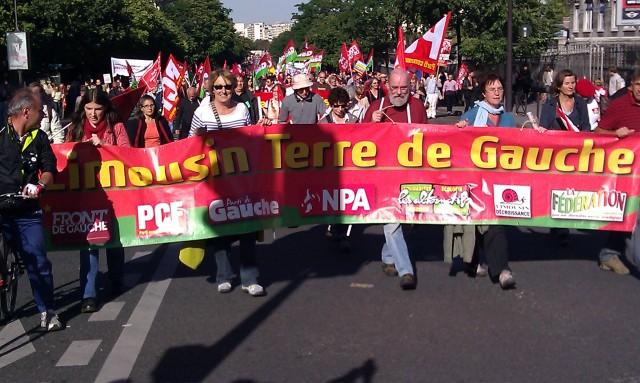 Limousin Terre de gauche, PCF, PG, NPA, les Alternatifs, Limousin décroissance et la Fédération []