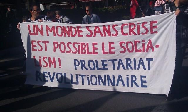 Un monde sans crise est possible, le socialisme. Prolétariat révolutionnaire []