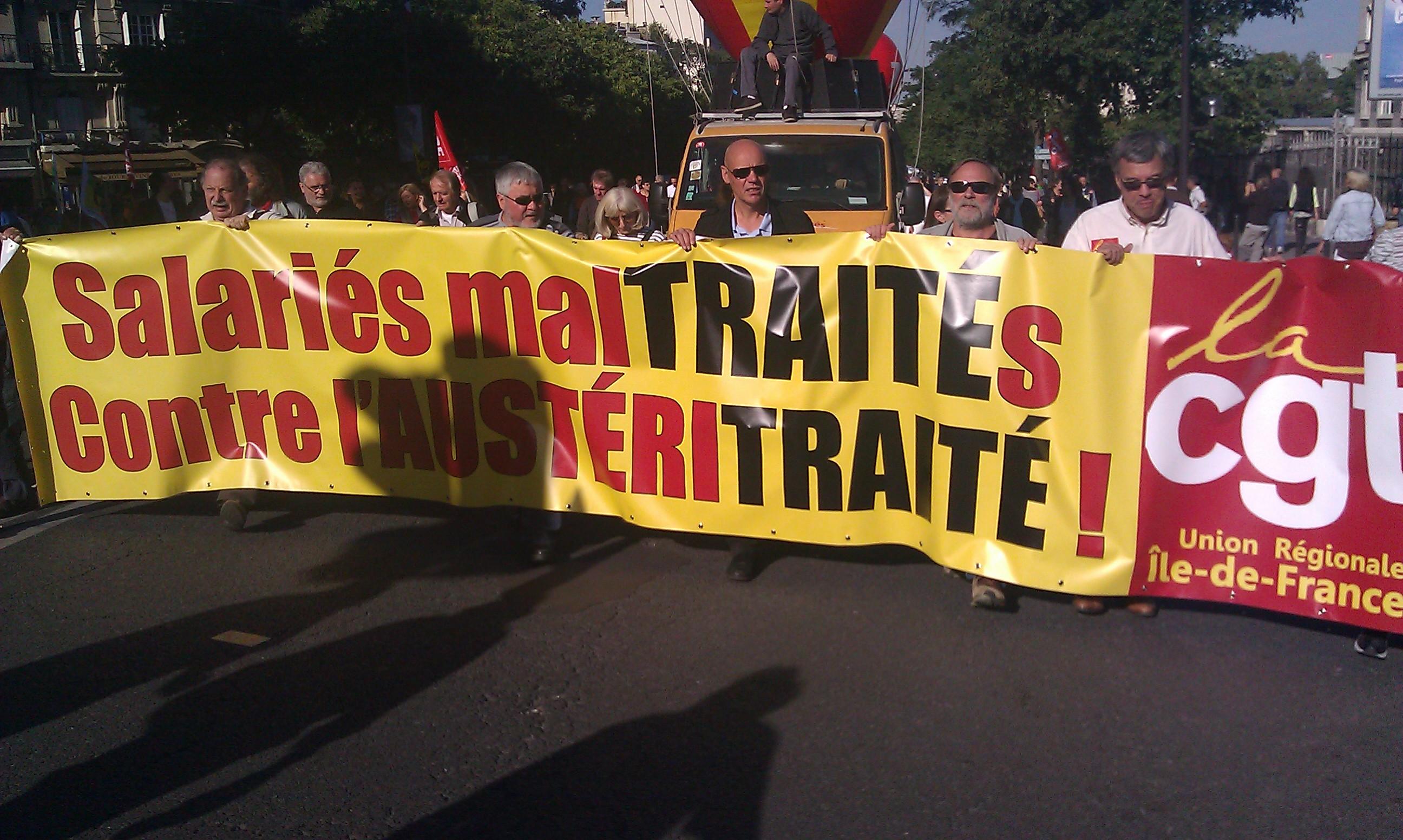 , CGT Ile-de-France