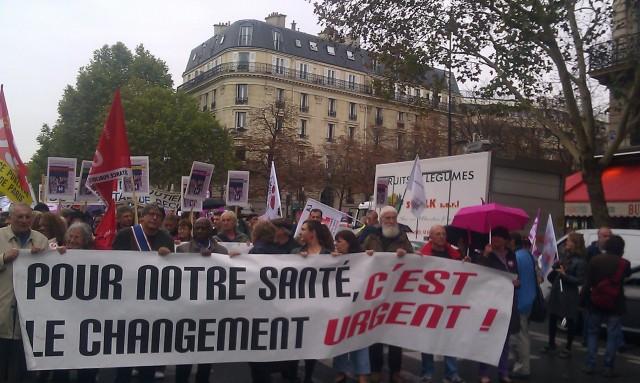 Pour notre Santé, le changement c'est urgent! [The change is urgent for our health!]