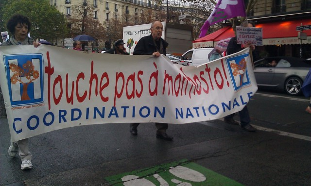 Touche pas à mon hosto, coordination nationale [Hands off my hospital, national coordination]