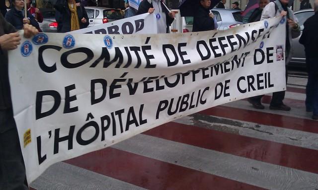 Comité de défense et de développement de l'hôpital public de Creil [Defense and development committee of the public hospital in Creil]
