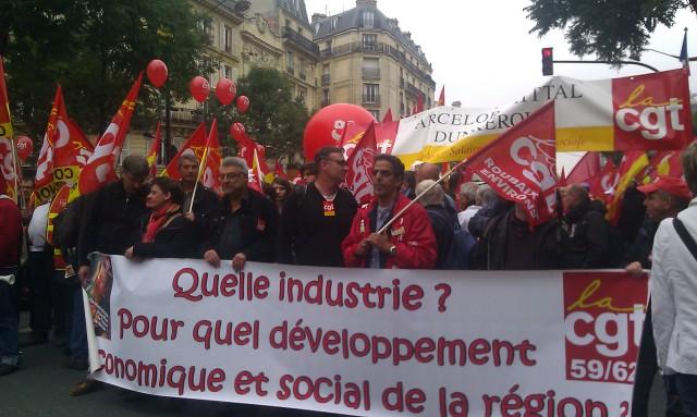 Quelle industrie? Pour quelle développement économique dans la région?, CGT 59/62