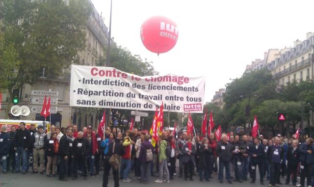 Contre le chômage : interdiction des licenciements, répartition du travail entre tous, sans diminution du salaire, Lutte Ouvrière []