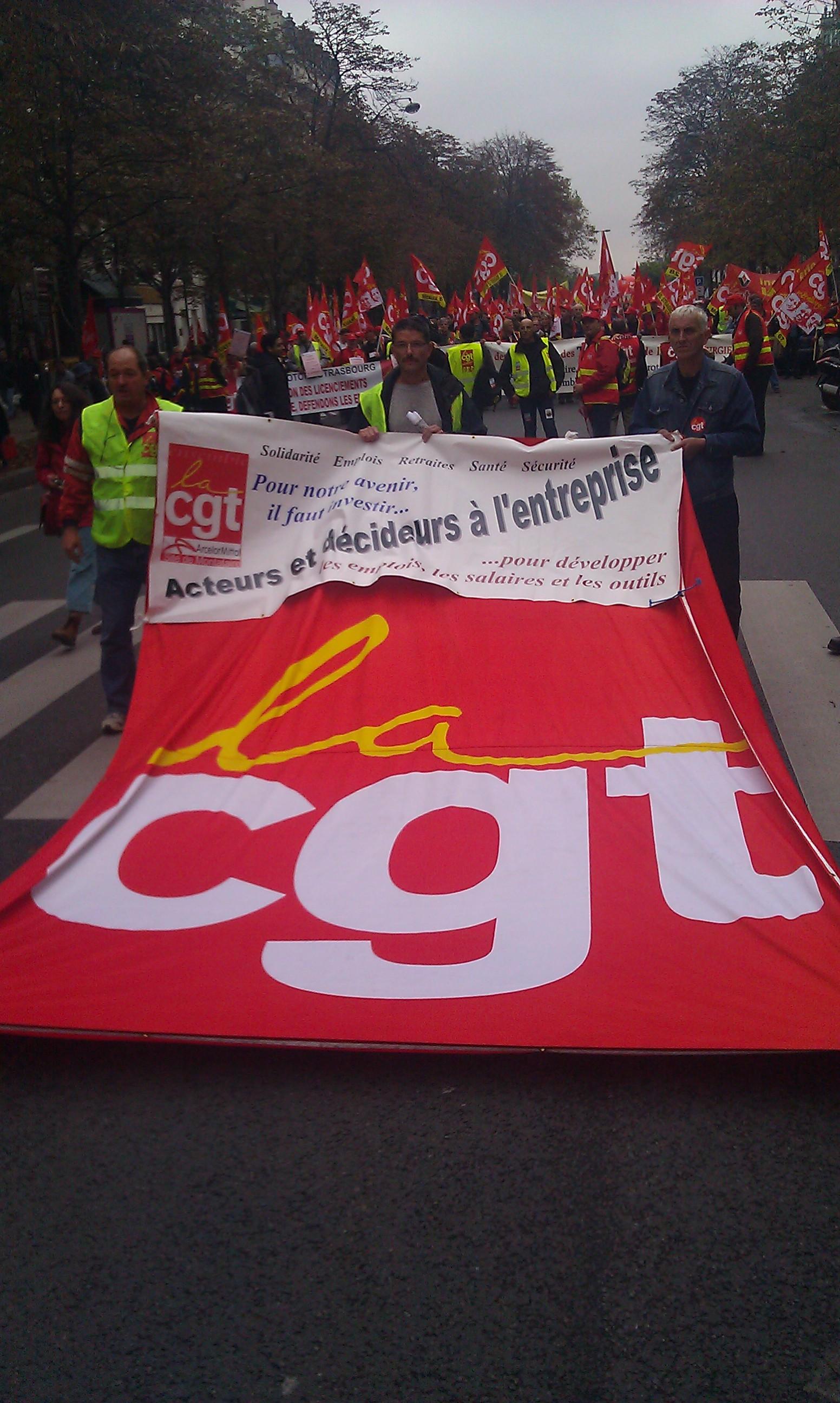 , CGT Arcelor Mittal [, CGT Arcelor Mittal]