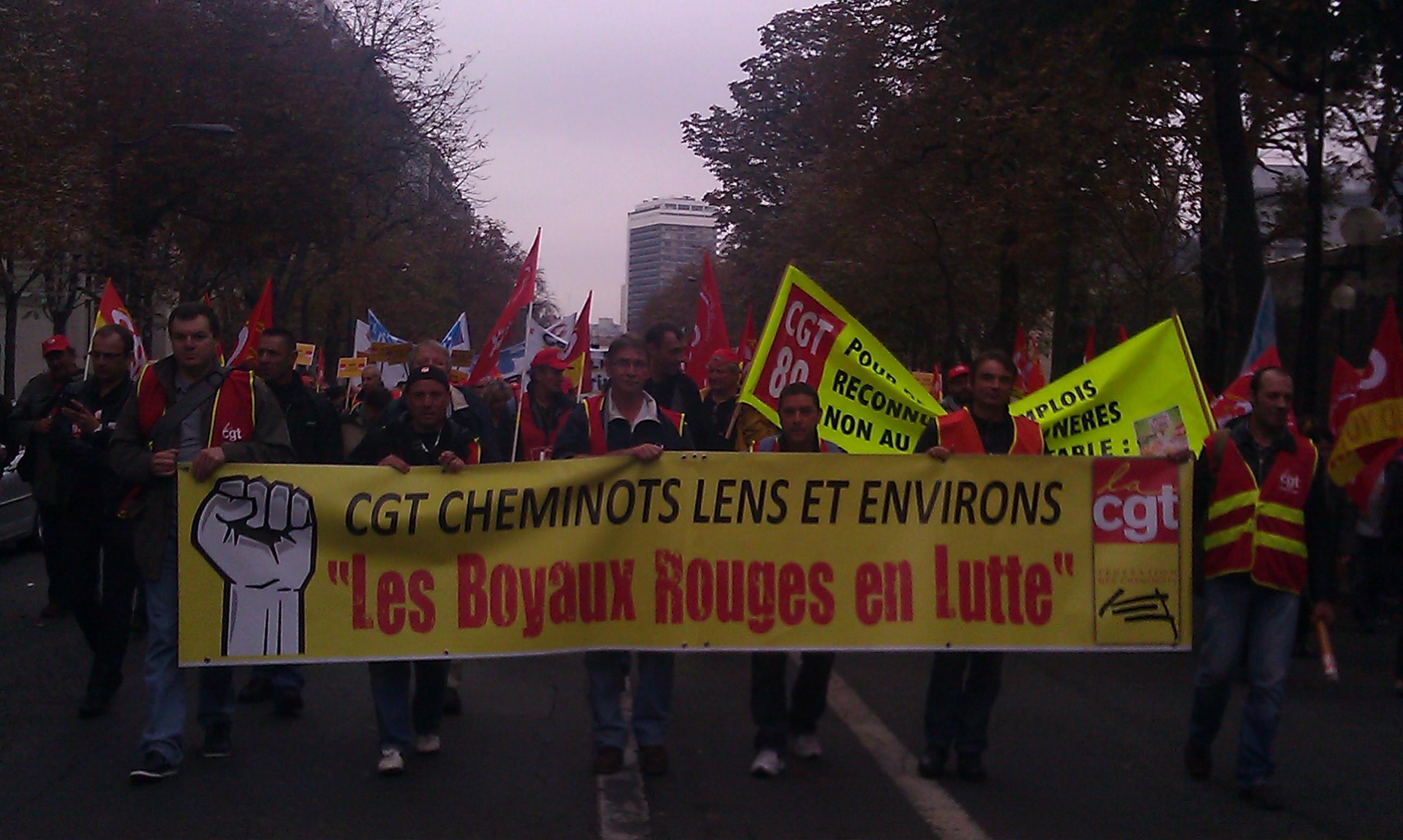 , CGT cheminots Lens et environs []
