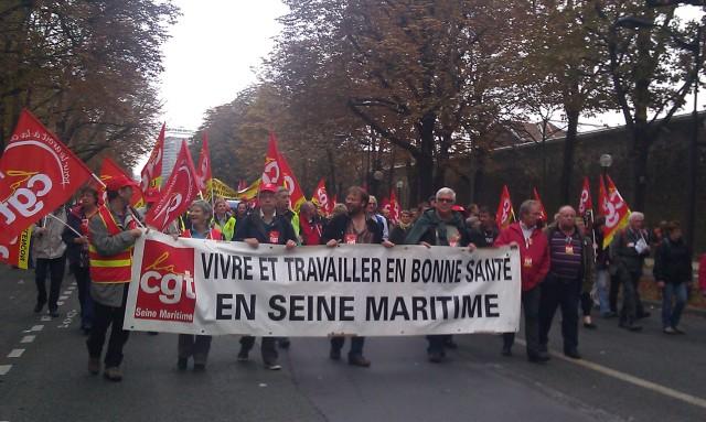 Vivre et travailler en bonne santé en Seine-Maritime, CGT Seine-Maritime [Live and work in good health in Seine-Maritime, CGT Seine-Maritime]