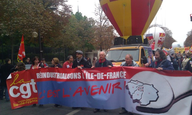 , CGT Ile-de-France [CGT Paris metropolitan region]