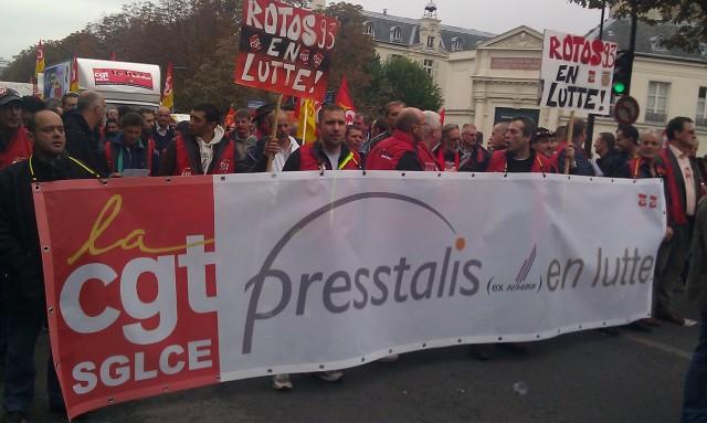 Presstalis en lutte, CGT Presstalis [Presstalis in struggle, CGT Presstalis]