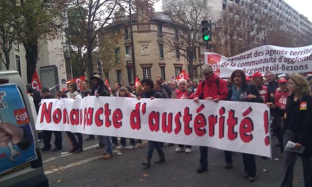 Non au pacte d'austérité []