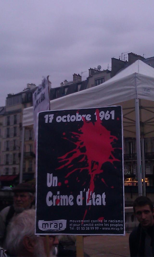17 octobre 1961, un crime d'Etat, MRAP [17 octobre 1961, a state crime, MRAP]