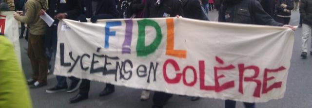 Lycéens en colère, FIDL [Angry high school students, FIDL]