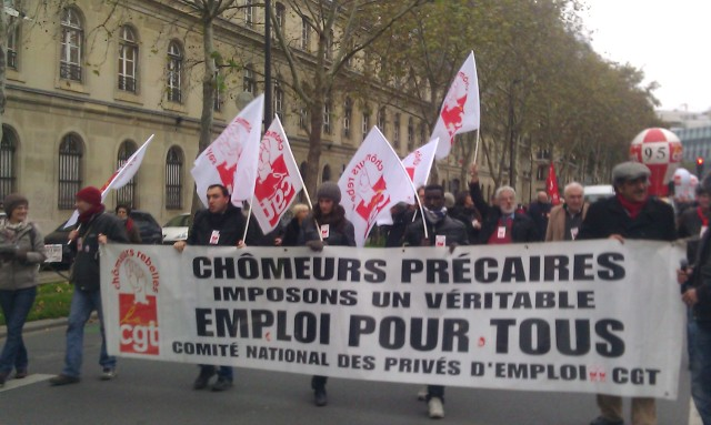 Imposons un véritable emploi pour tous, CGT chômeurs précaires [Let us impose a real job for all, CGT unemployed precarious people]