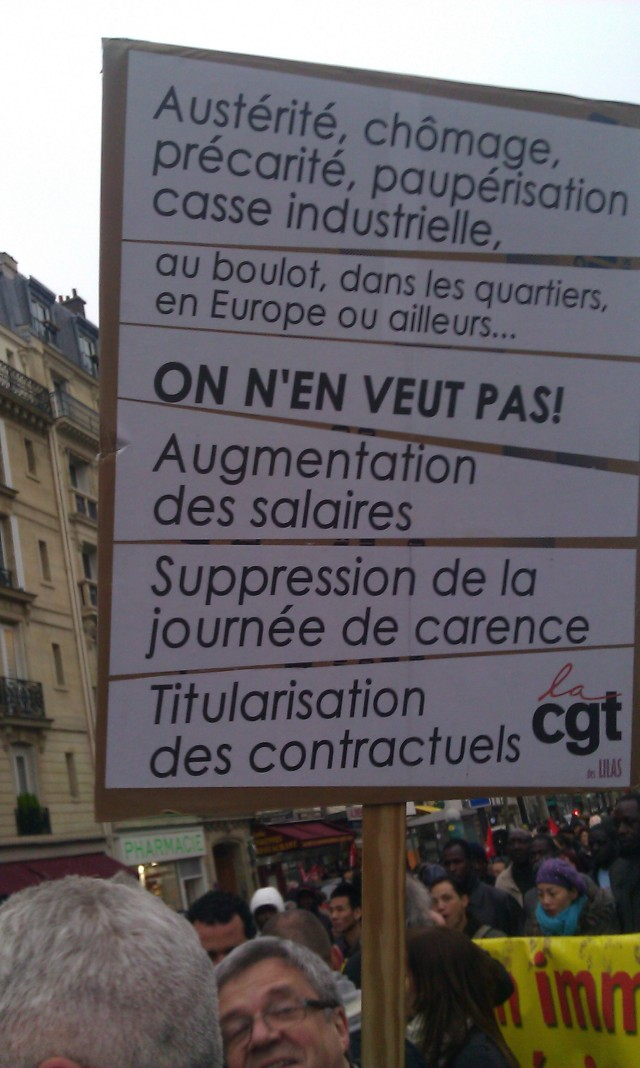 , CGT Les Lilas [, CGT Les Lilas]