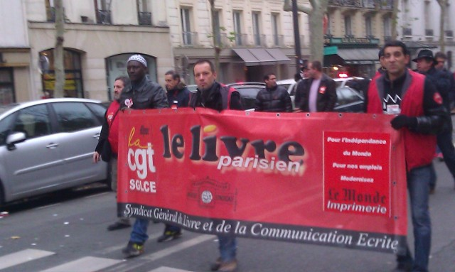 CGT syndicat général du livre et de la communication écrite [CGT General Union of the book and written communication]