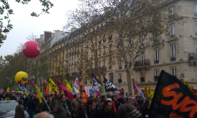 Cortège de Solidaires [March of Solidaires]