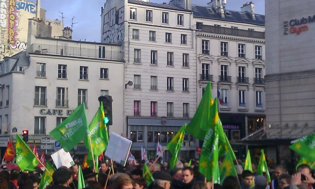 Europe Ecologie Les Verts [Europe Ecology The Greens]