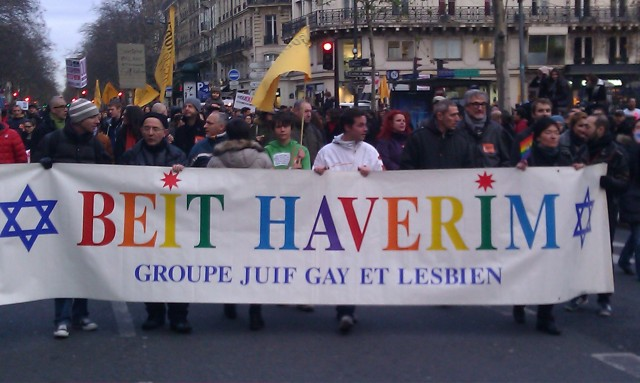 Groupe juif gay et lesbien [Gay and lesbian jewish group]