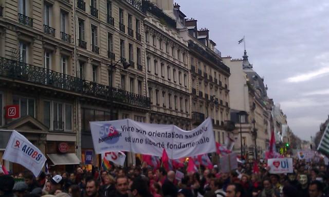 Vivre son orientation sexuelle est une liberté fondamentale, SOS homophobie [Living one's sexual orientation is a fundamental freedom, SOS homophobia]
