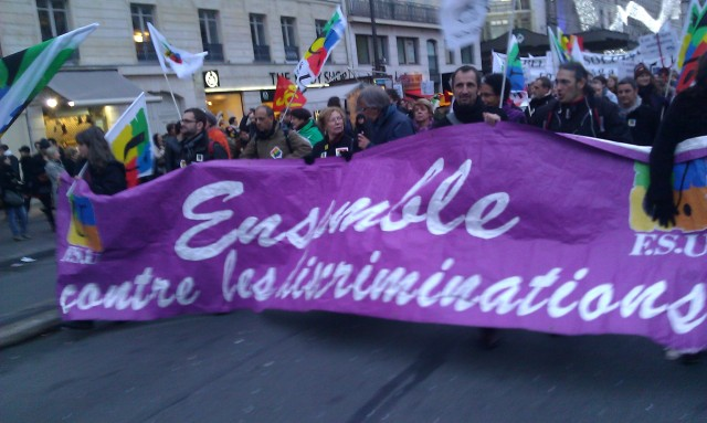 Ensemble contre les discriminations, FSU [Together against the discriminations, FSU]