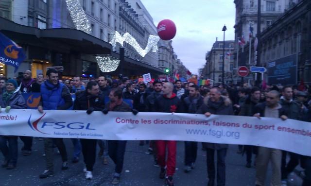 Fédération Sportive Gaie et Lesbienne [Sport gay and lesbian federation]