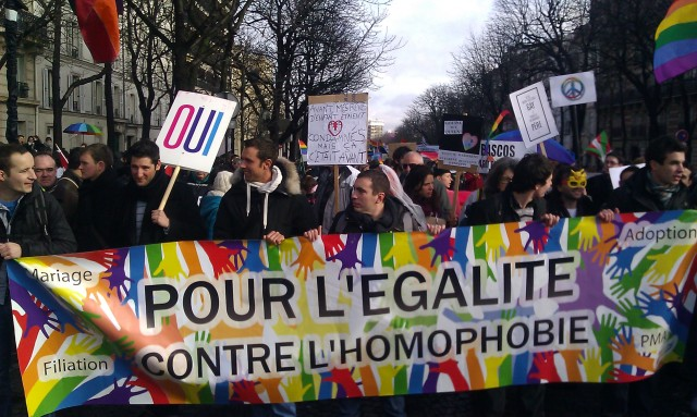 Mariage, adoption, filiation, PMA, pour l'égalité, contre l'homophobie []
